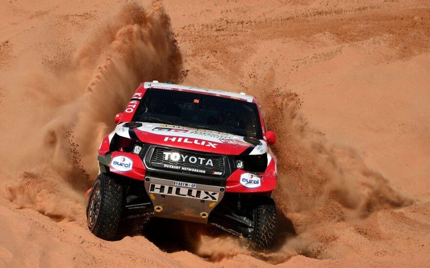 """""""Toyota"""" Dakare turėjo imtis neįprastų sprendimų"""
