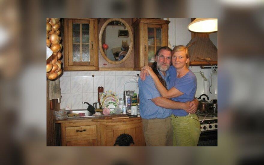 Stanislovas Bagdonavičius su žmona
