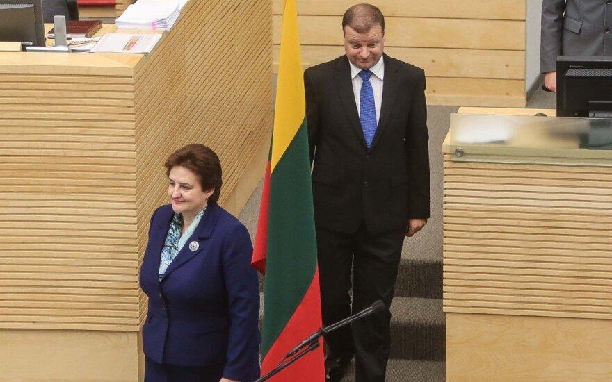 Loreta Graužinienė, Saulius Skvernelis