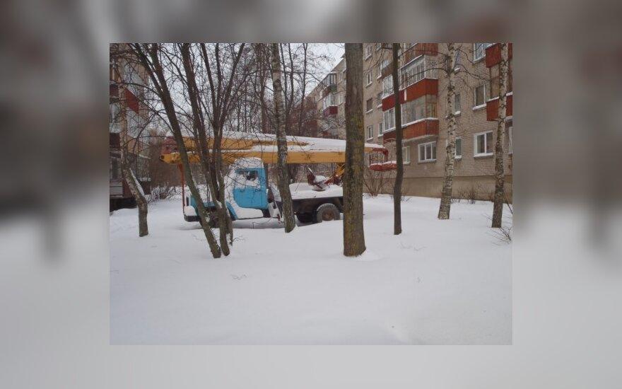 Klaipėdoje, Kauno g. 25. 2010-12-21, 15.45 val.