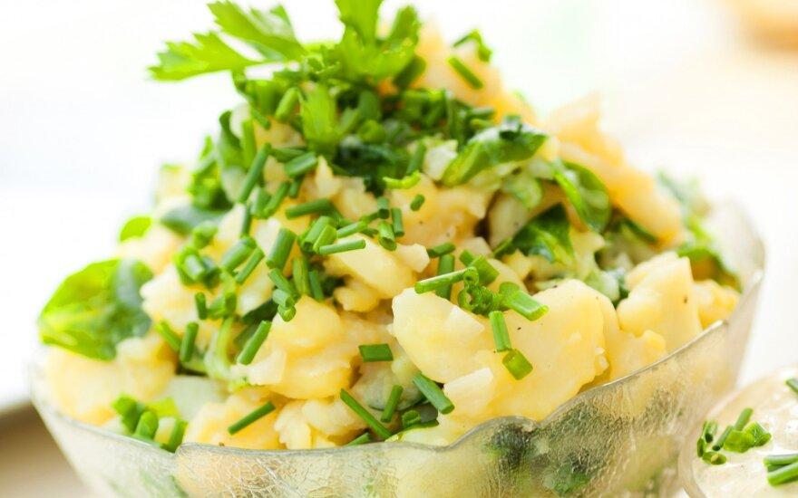 Virtos bulvės