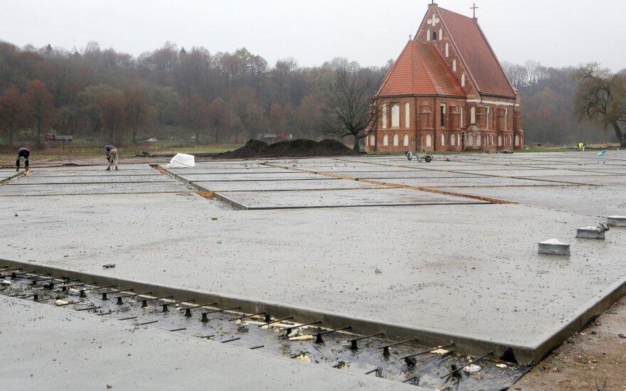 Zapyškio Šv. Jono Krikštytojo bažnyčios aplinkos tvarkymas