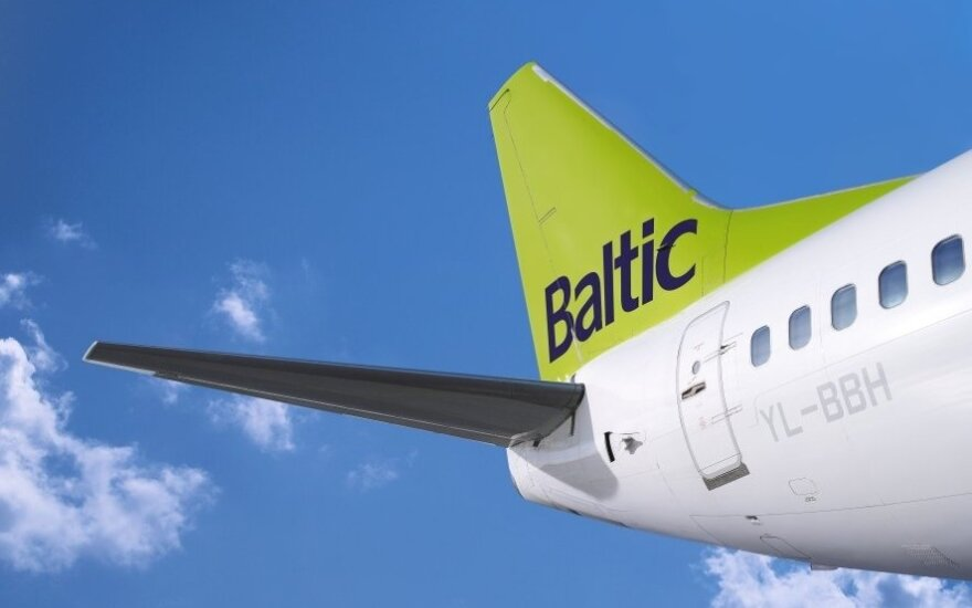 """air Baltic"" jet"