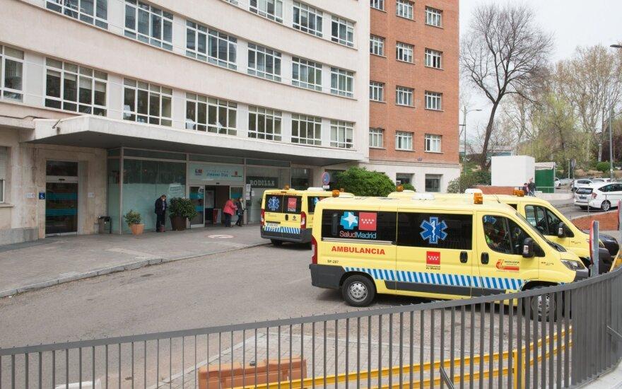 Tragiška diena Madrido ligoninėse: kas 16 minučių – po mirtį nuo koronaviruso