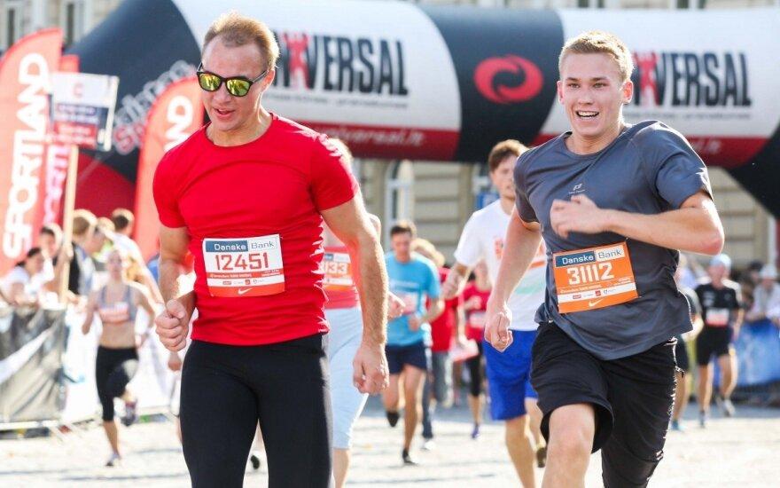 """Trys mėnesiai iki """"Danske Bank Vilniaus maratono"""" - tiek, kiek trunka pasiruošti 10 km bėgimui"""