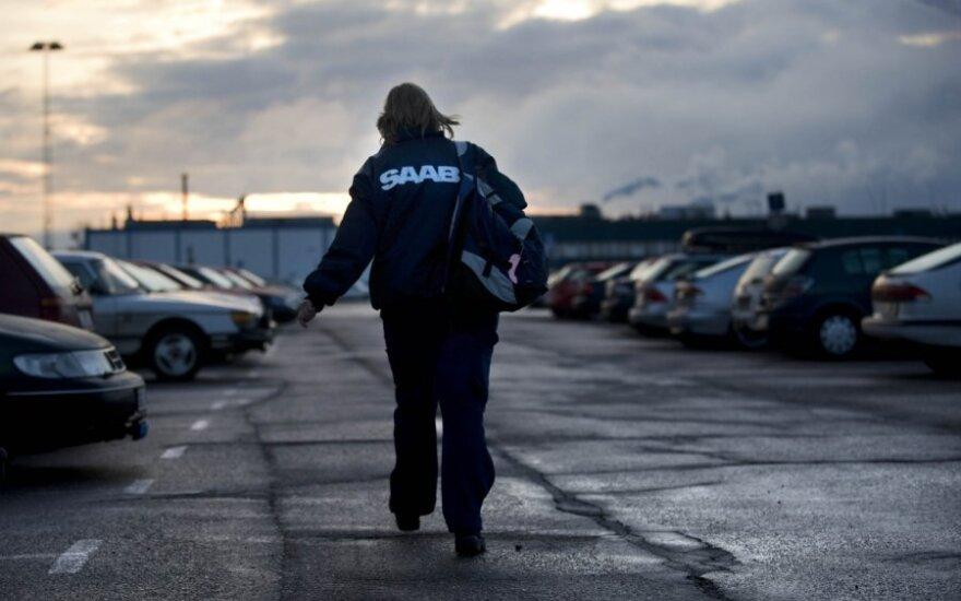 """""""Saab"""" nebeturi pinigų darbuotojų atlyginimams"""
