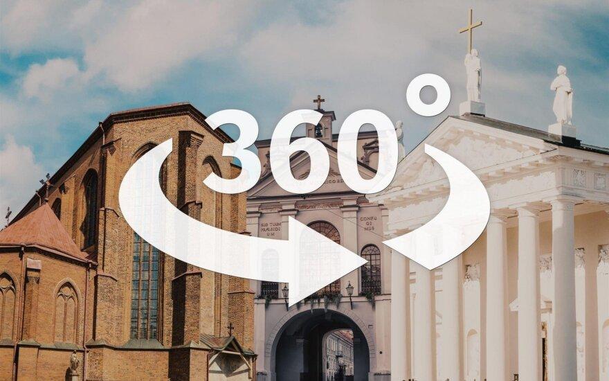 DELFI skaitytojams – išskirtinė galimybė pasižvalgyti po maldos namus, kuriuose lankysis popiežius
