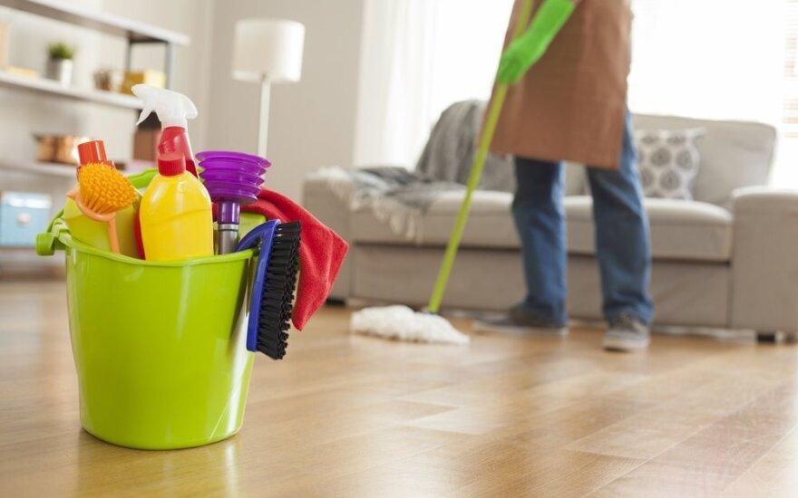 Ekspertas pataria: esminės namų tvarkymo klaidos ir 3 žingsnių taisyklė švariems namams