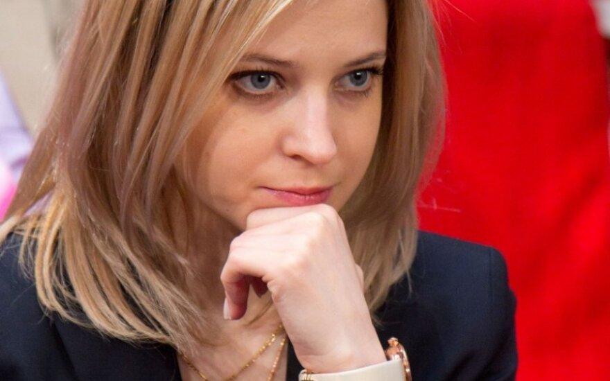 Interneto sensacija tapusi Krymo prokurorė imasi naujos veiklos