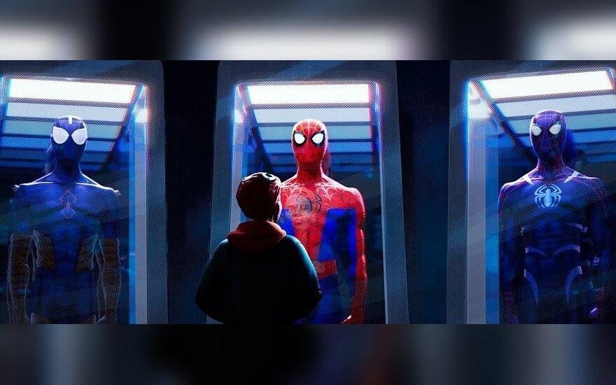 """Kadras iš filmo """"Žmogus voras: į naują visatą"""""""