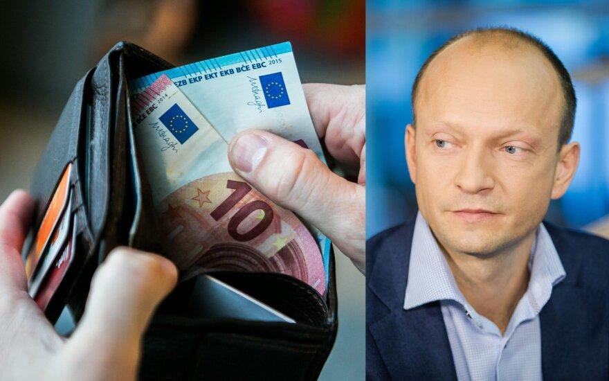Vidurinioji klasė Lietuvoje: suskaičiavo, kiek uždirbantys į ją patenka