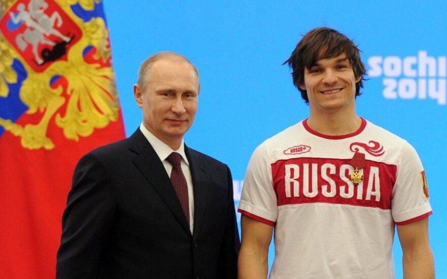 Vladimiras Putinas ir Vicas Wildas
