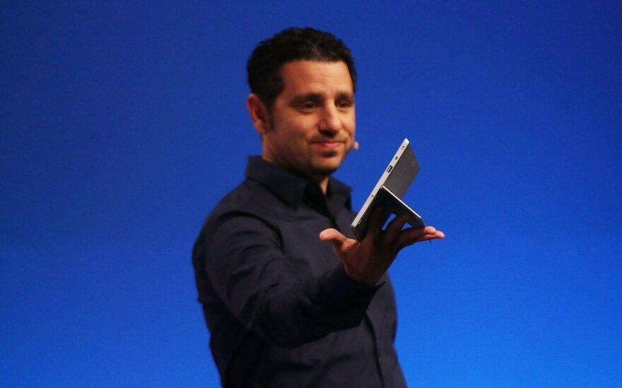 """Panosas Panay pristato """"Microsoft Surface Pro 2"""" planšetinį kompiuterį"""