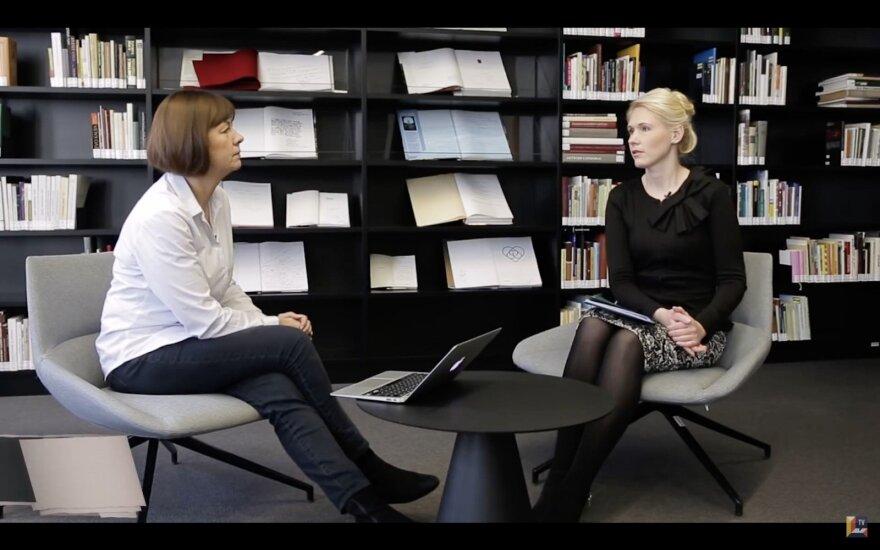 Pokalbis su Laura Matjošaityte