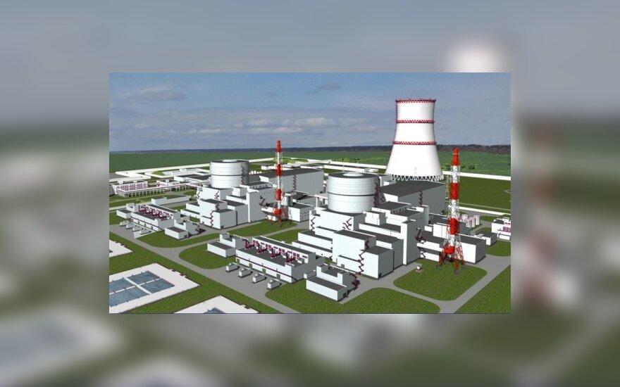 Rusijos vyriausybė patvirtino AE statybą Kaliningrado srityje