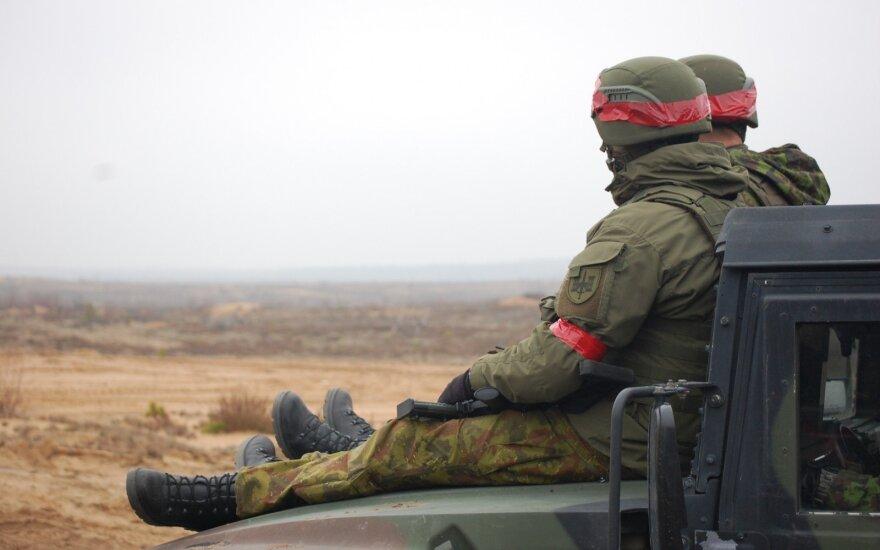 Karoblis apie išlaidas gynybai: geopolitinė Lietuvos padėtis nesikeičia