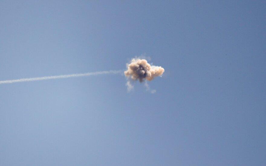 """""""Hamas"""" paleido raketą į Izraelio antrąjį pagal svarbą oro uostą"""