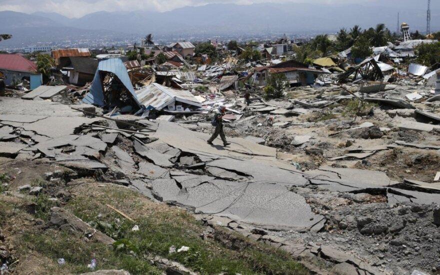 Indonezija po žemės drebėjimo