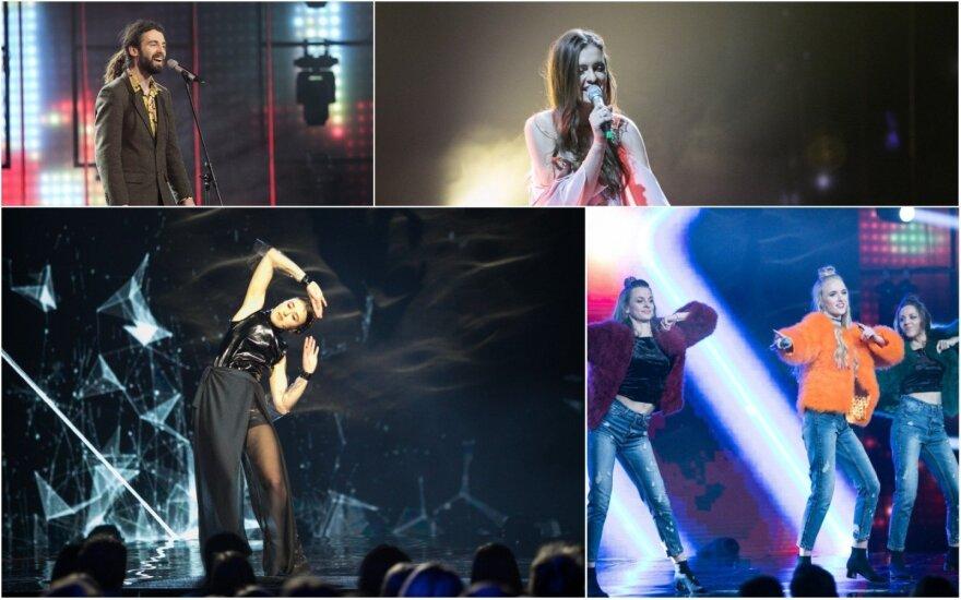 """""""Eurovizijos"""" atrankų dalyviai"""