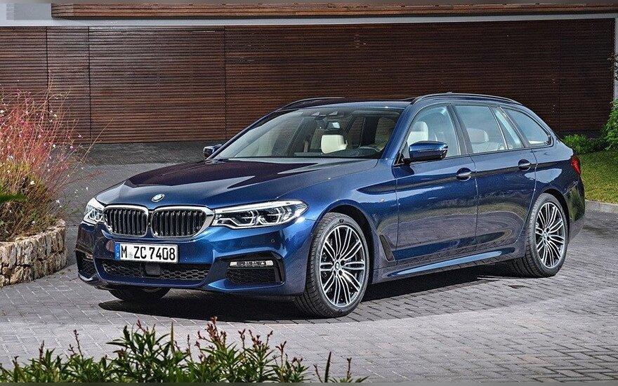 BMW 5-osios serijos universalas