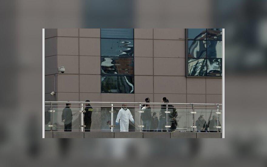 Atėnų prekybos centre detonuotas sprogmuo
