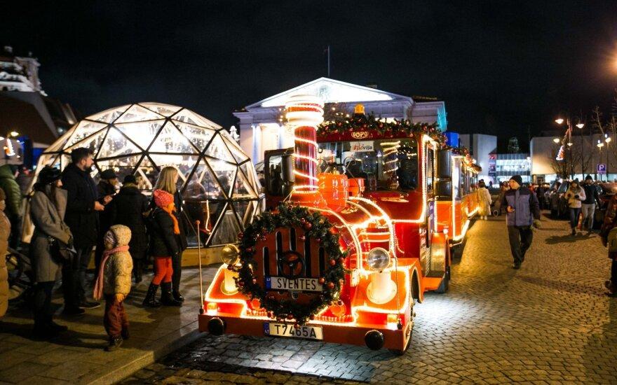 Naujųjų naktį Vilniuje viešasis transportas bus nemokamas