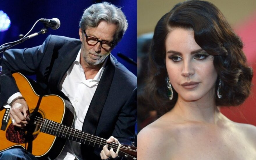 Ericas Claptonas, Lana Del Rey, Scanpix nuotr.