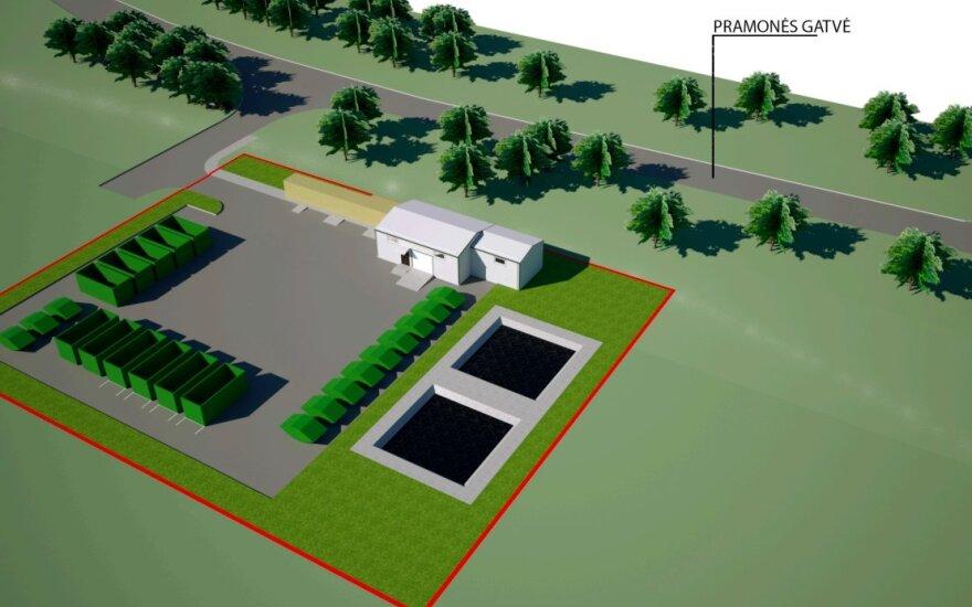 Vilniuje planuojama nauja stambių atliekų aikštelė