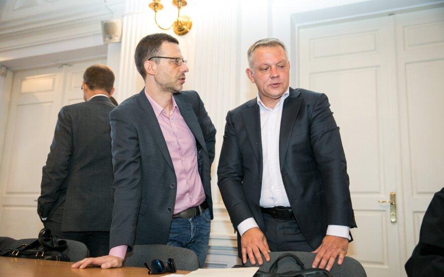 Šarūnas Gustainis, Eligijus Masiulis