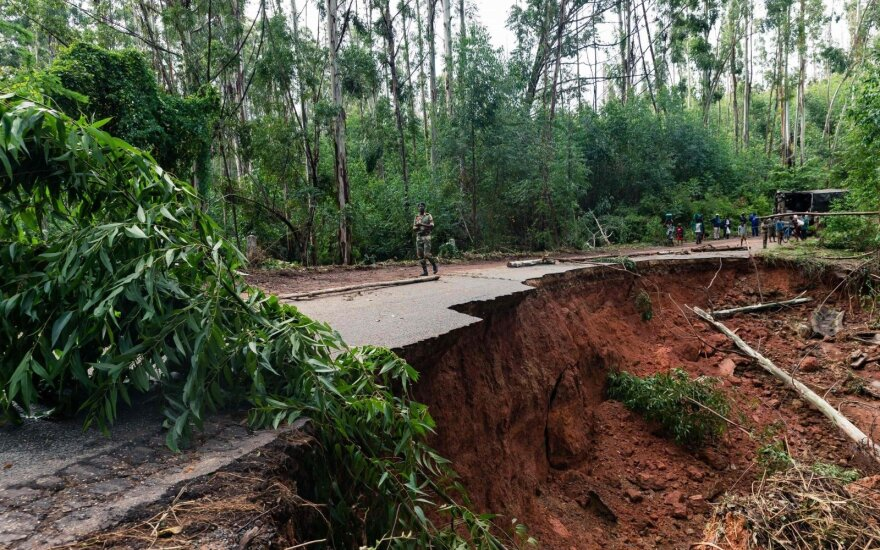 Ciklono nusiaubtas Mozambikas užregistravo choleros atvejų