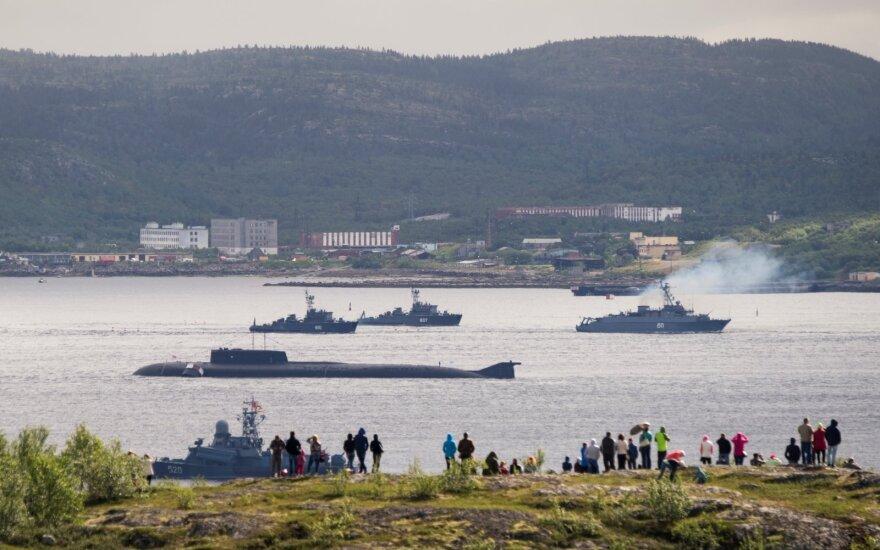 Kremlius apie tragediją jūroje: tai valstybės paslaptis