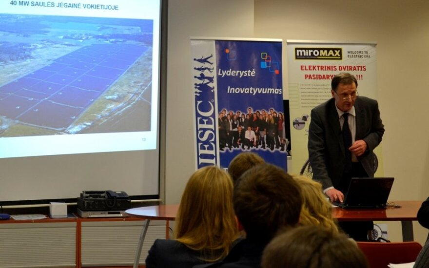 """UAB """"Arginta"""" Atsinaujinančios energijos padalinio inovacijų plėtros direktorius Vitas Mačiulis"""