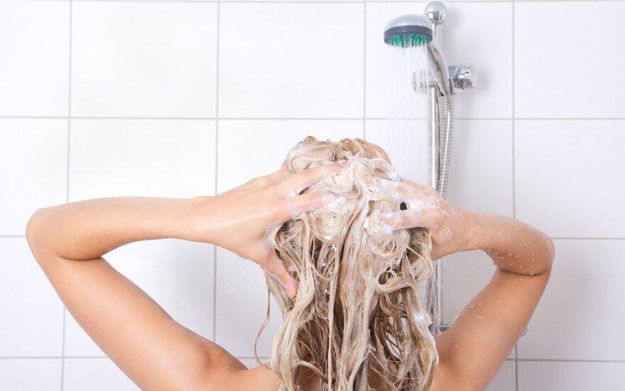 8 klaidos, kurias darome vonioje