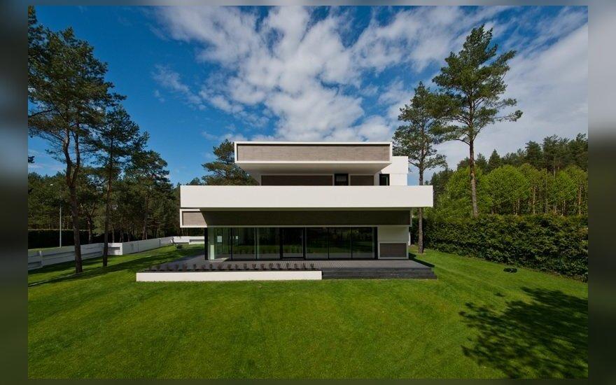 Pasauliniame konkurse sublizgėjęs namas stovi Turniškėse
