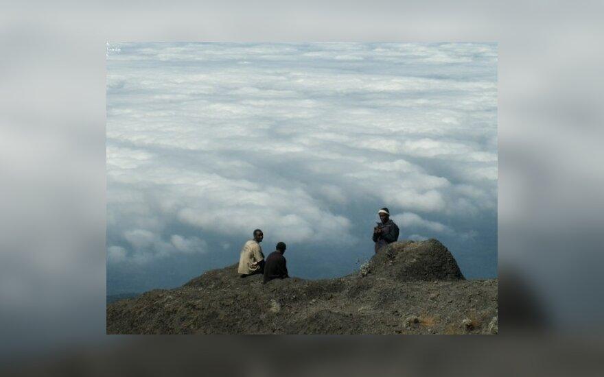 S.Venskaus žygis į kalnus
