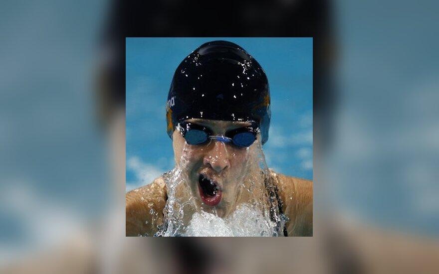 E.Dautartas pagerino Lietuvos plaukimo rekordą