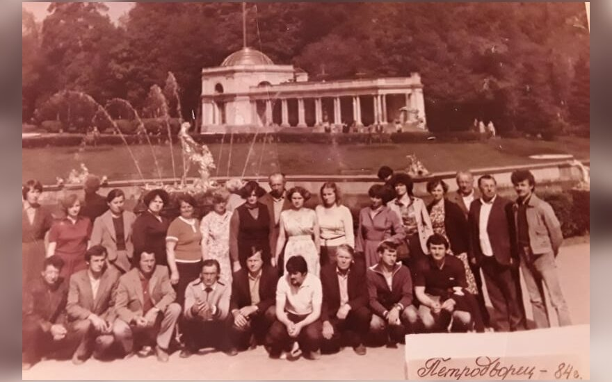 Darbo kolektyvas Leningrade