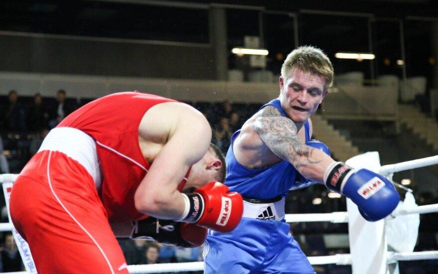 E. Petrauskas džiaugiasi – olimpiadoje bus kovojama be šalmų