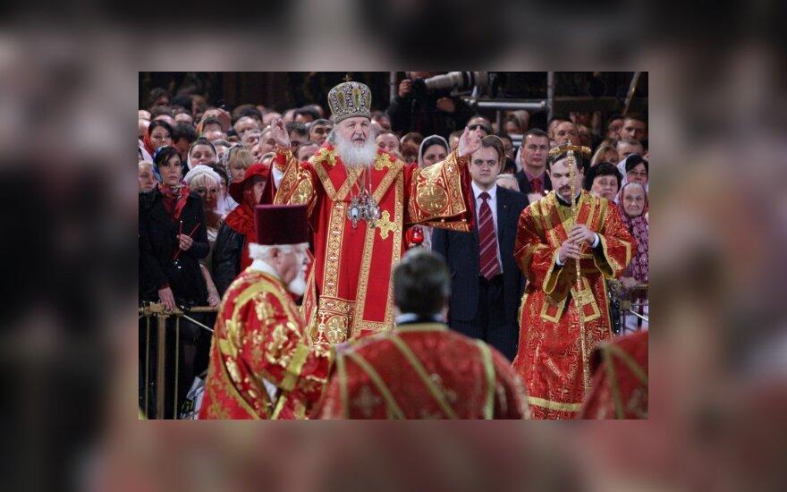 Patriarchas Kirilas ragina visus melsti lietaus