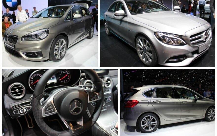 BMW prieš Mercedes
