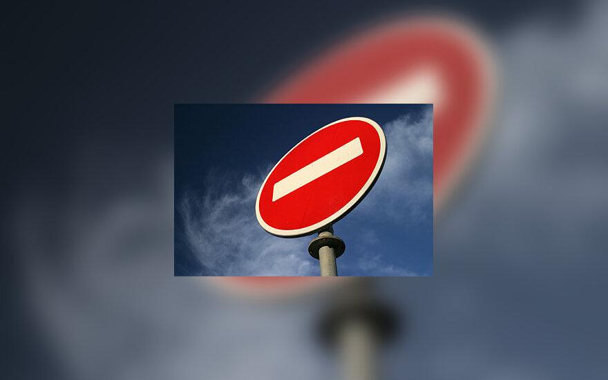 Stop ženklas, pavojus, stop