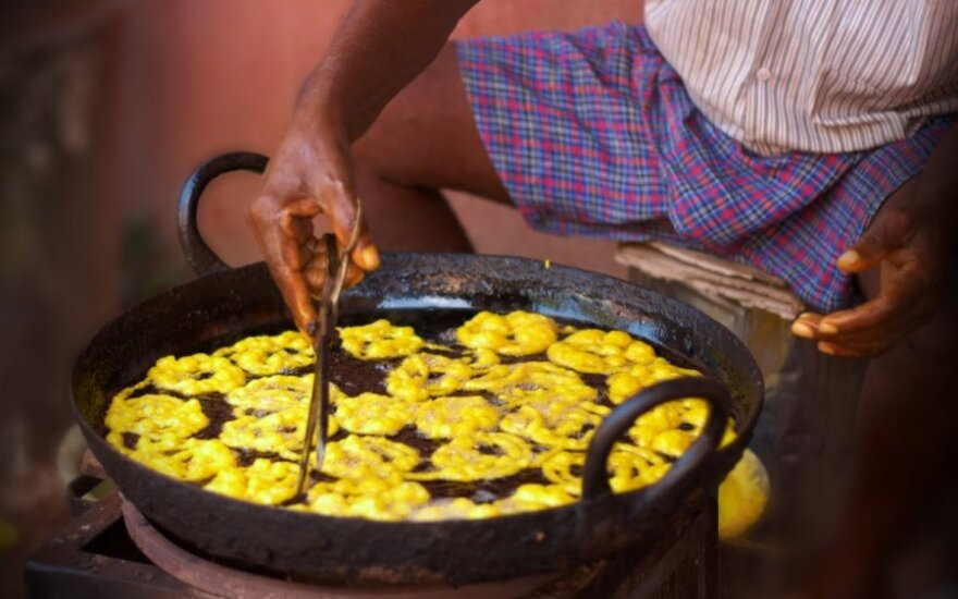 Jalebi, Indija