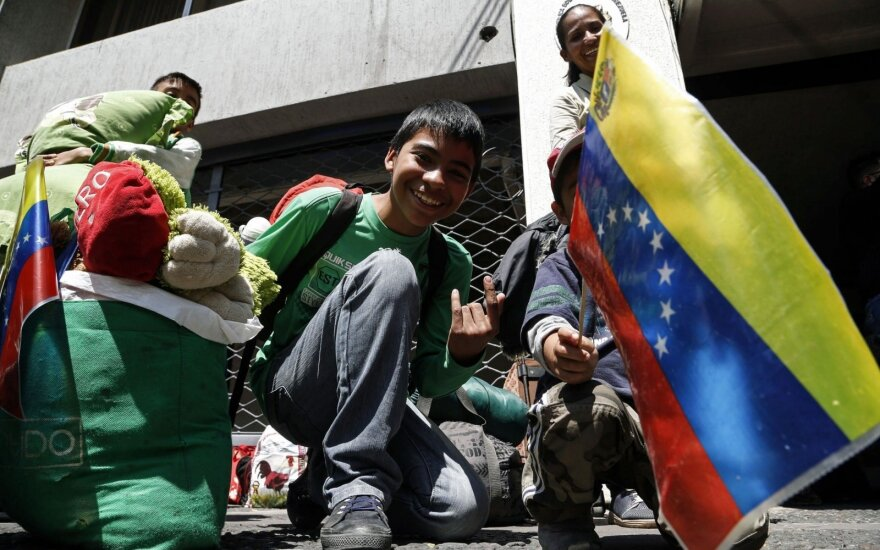 Pabėgėliai iš Venesuelos