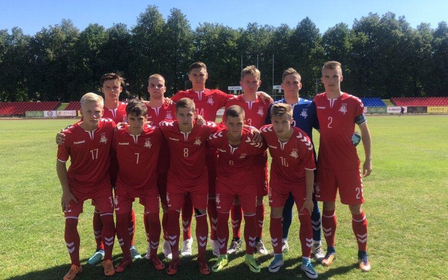 Lietuvos futbolo jaunių rinktinė