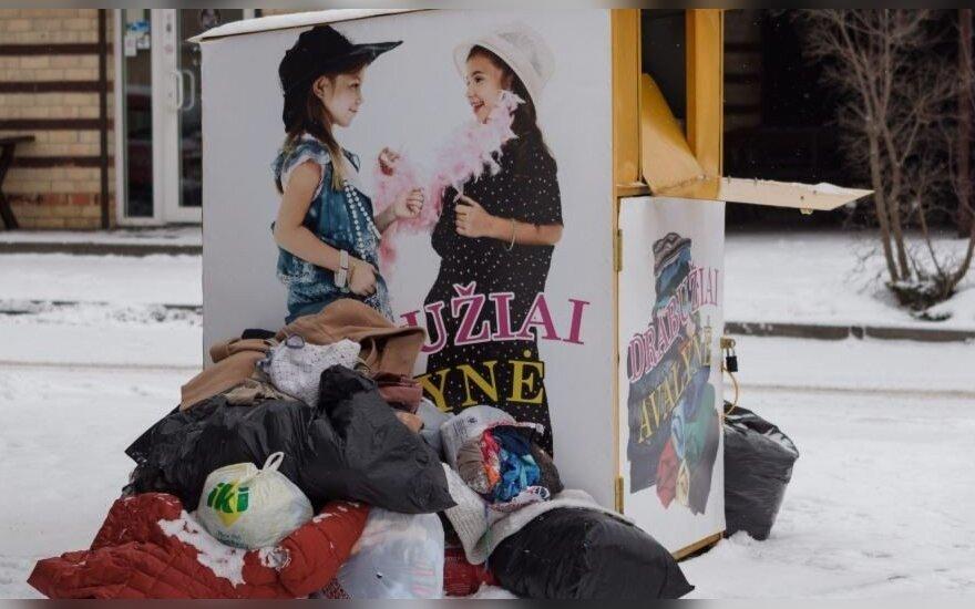 Rūbų konteineris