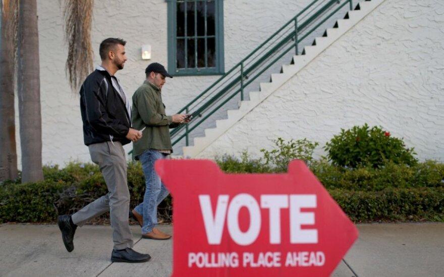 Luiziana dėl koronaviruso nukelia pirminius rinkimus