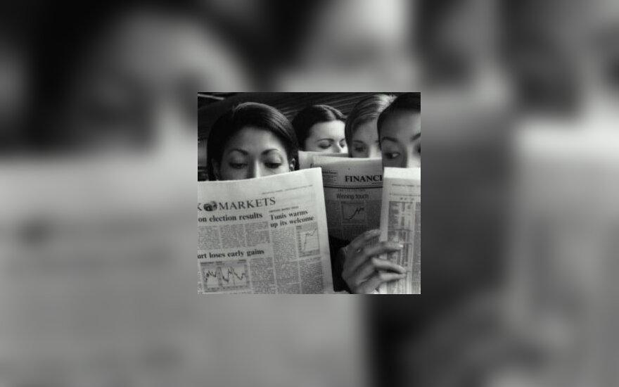 Laikraščių skaitymas