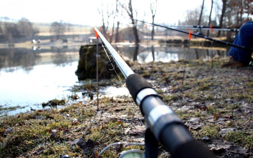 Žvejyba dugnine meškere
