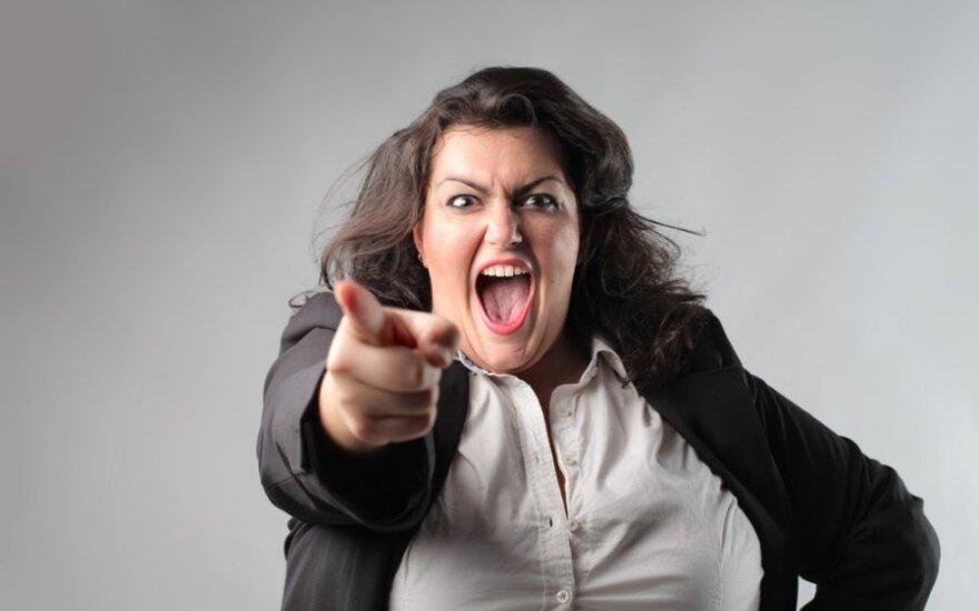 Kaip geriausia elgtis, kai jus bando įžeisti ar pašiepti?