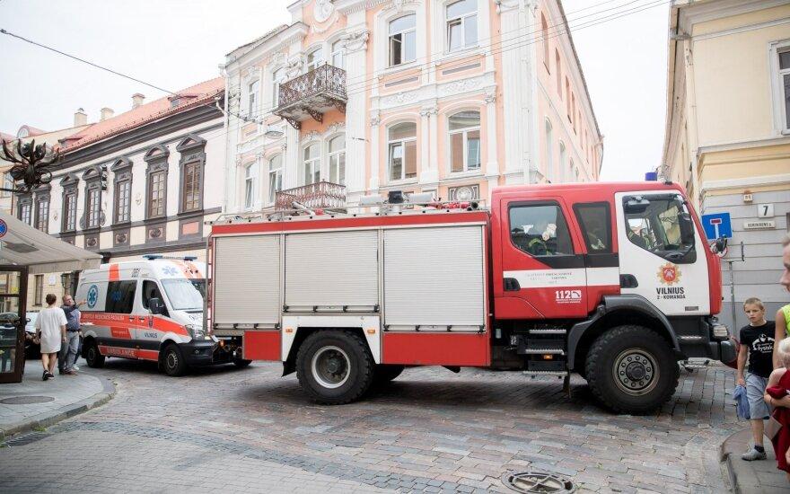 Vilniuje sumaištis – apleistoje statybvietėje įvyko sprogimas
